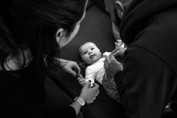 Nuage Creation photographe naissance var